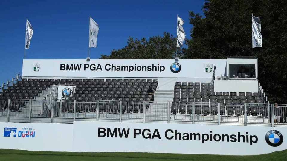 Eurpean Tour slow play tracking system at BMW PGA