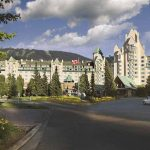 The Fairmont Chateau at Fairmont Chateau Whistler Resort.