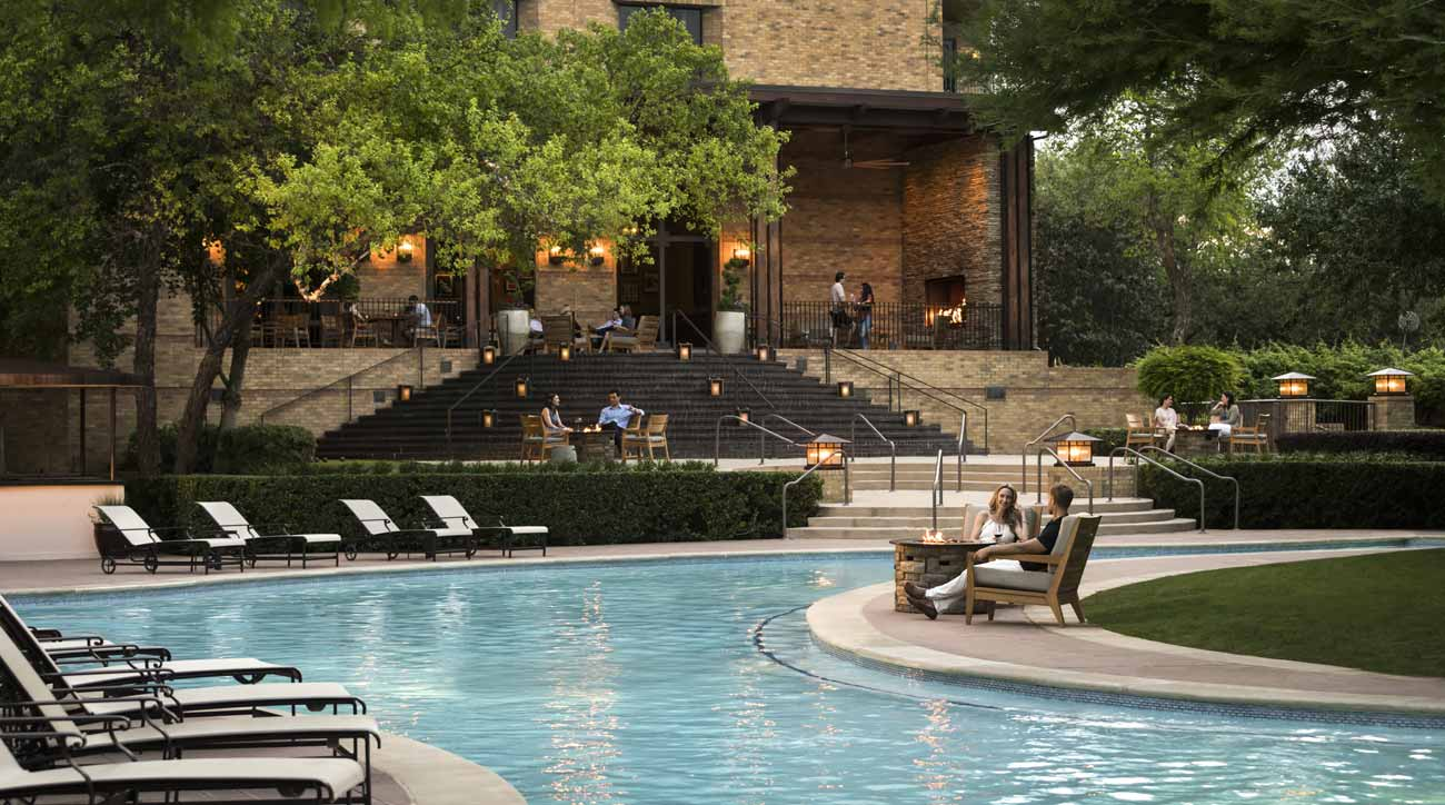 A view of the pool at Four Seasons Resort Las Colinas.