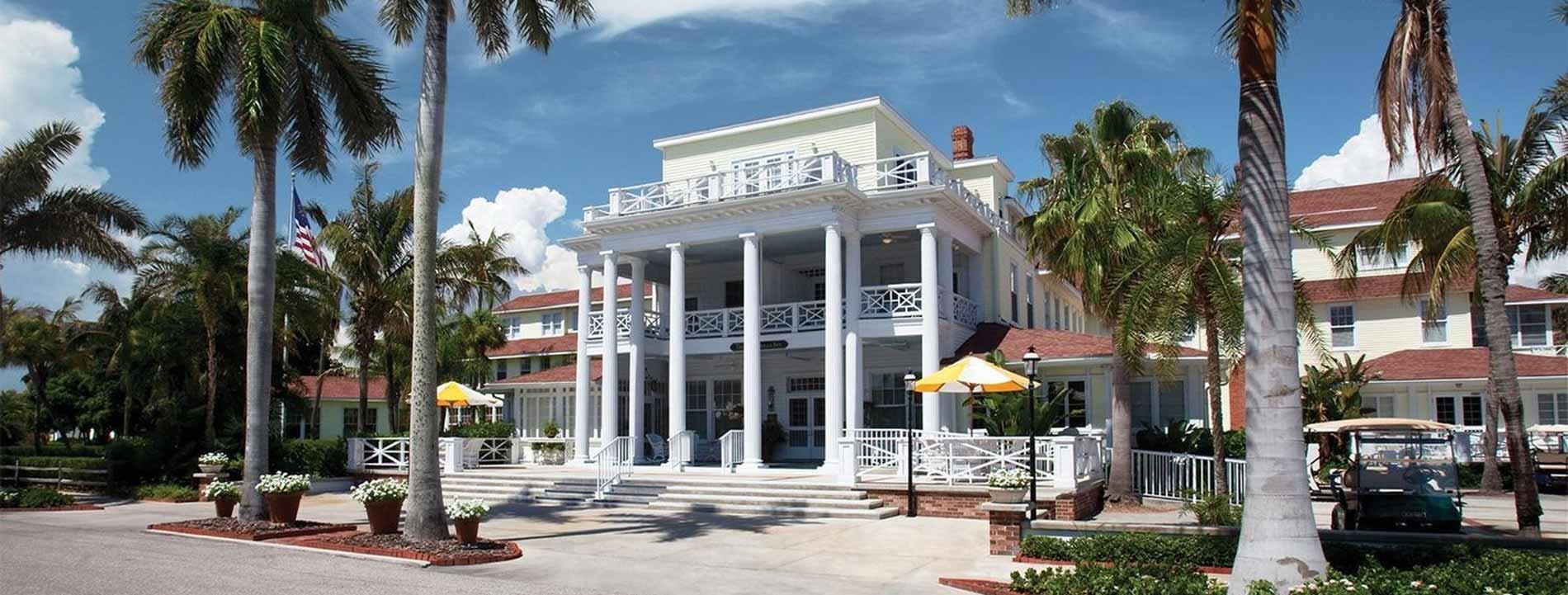 Gasparilla Inn and Club in Boca Grande, Florida.