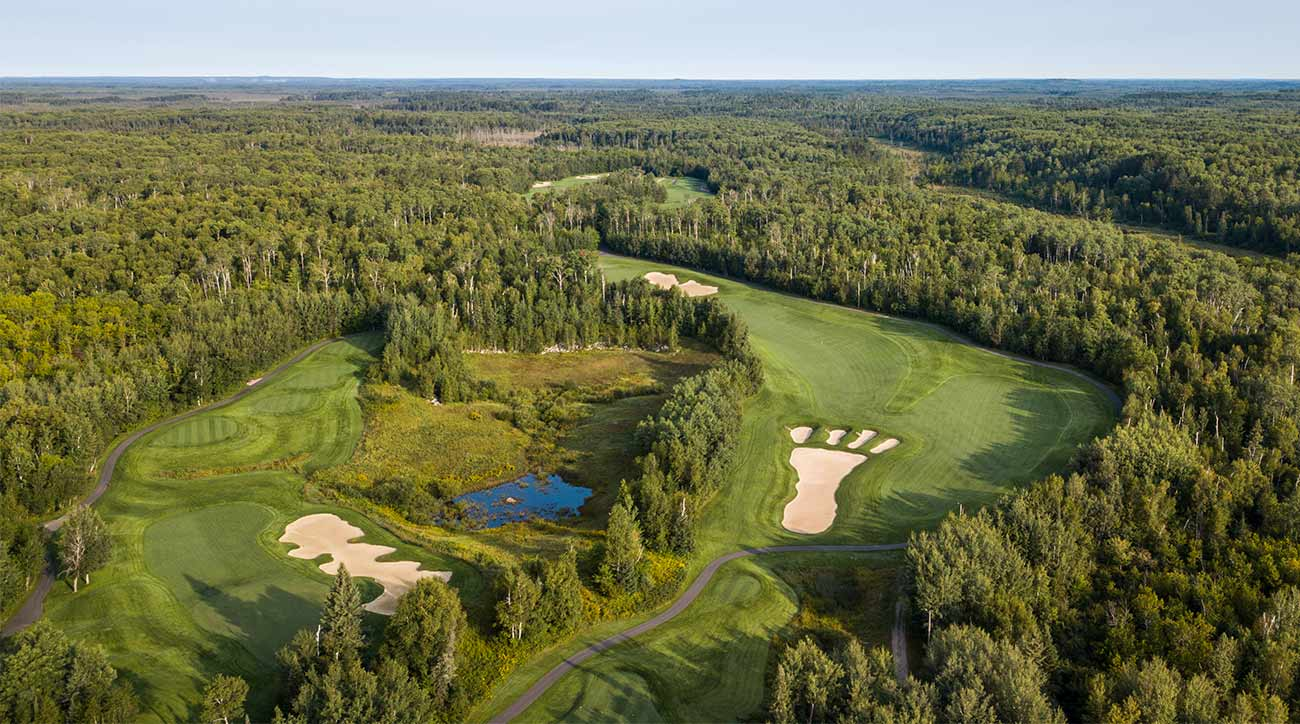 Giants Ridge in northern Minnesota has two 18-hole golf courses.