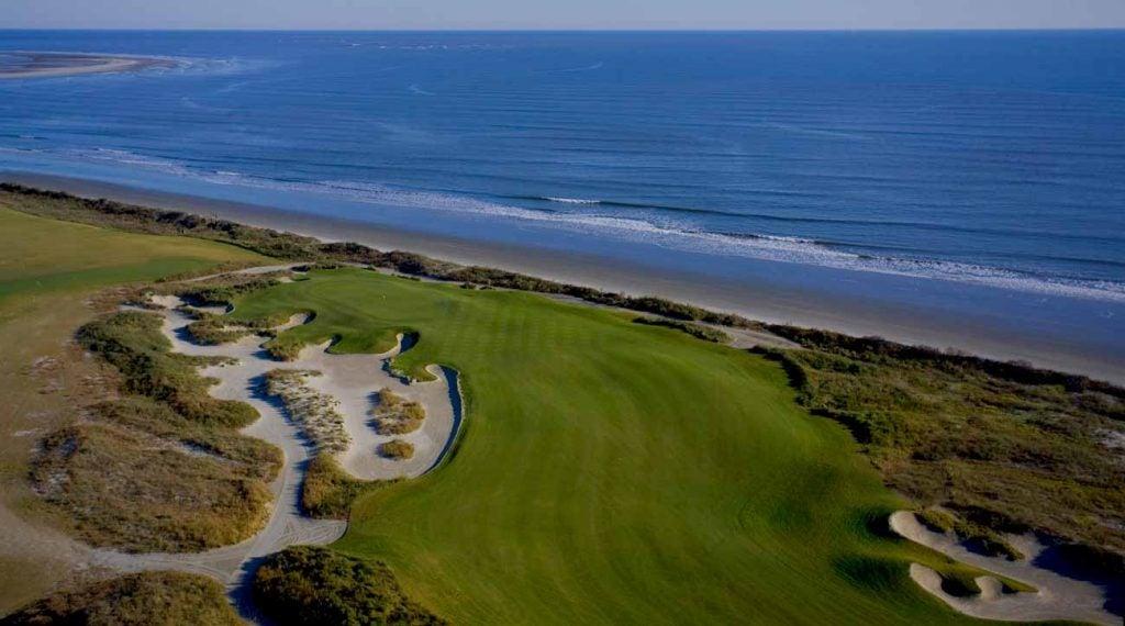 The 18th hole on Kiawah Island's Ocean Course.