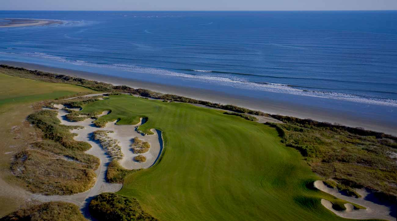 The 18th hole on Kiawah Island's Ocean Course