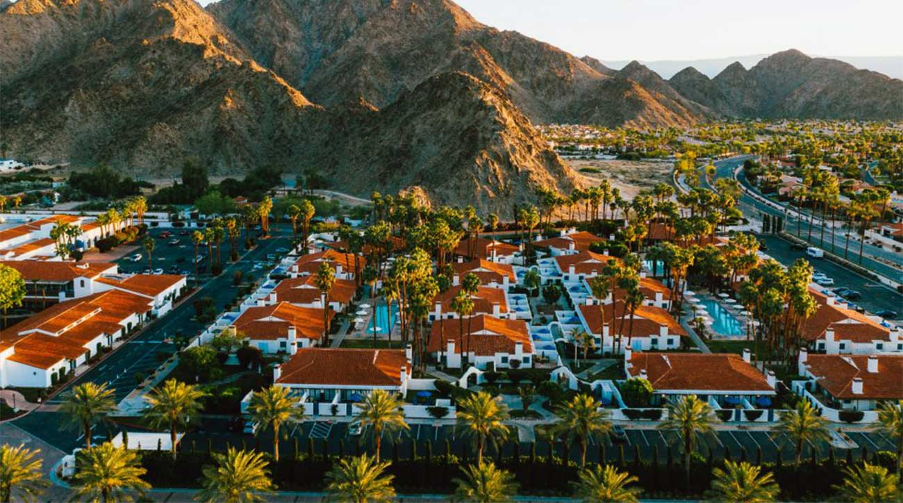 An aerial view of just a portion of La Quinta Resort & Club.