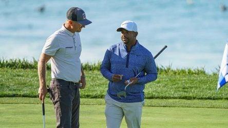 Matt Ginella and Alfonso Ribeiro won the Pure Insurance Championship, but it didn't come without plenty of nerves down the stretch.