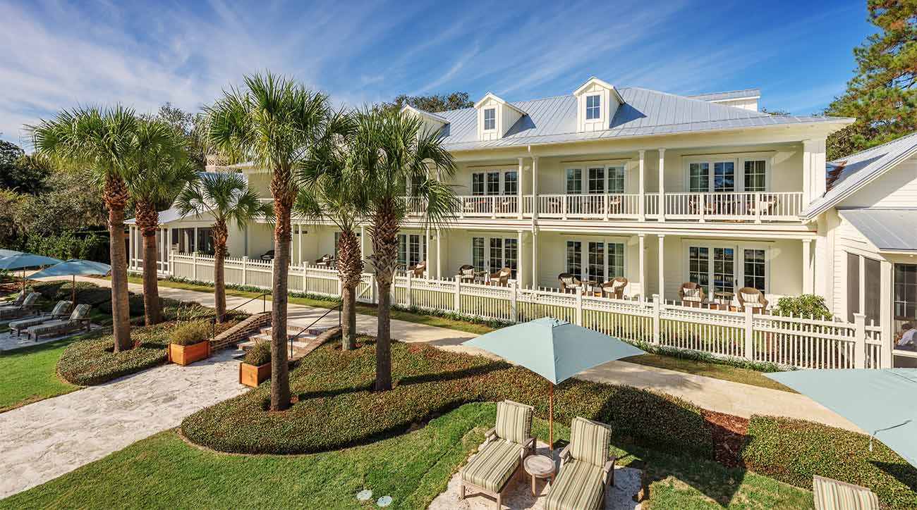 Montage Palmetto Bluff in South Carolina has a variety of high-end lodging options.