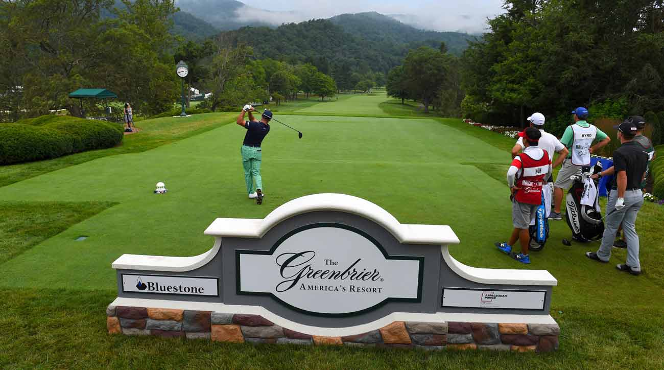2019 Military Tribute At The Greenbrier Tee Times, TV