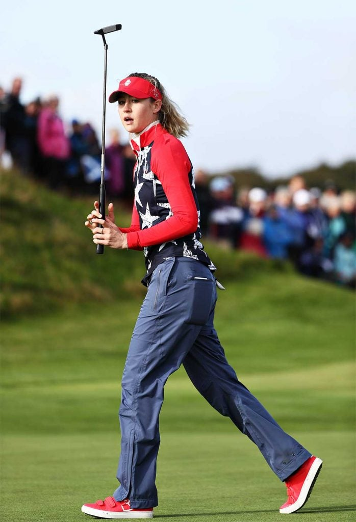 Nelly Korda might have been a Solheim Cup rookie, but she played beautiful golf all week.