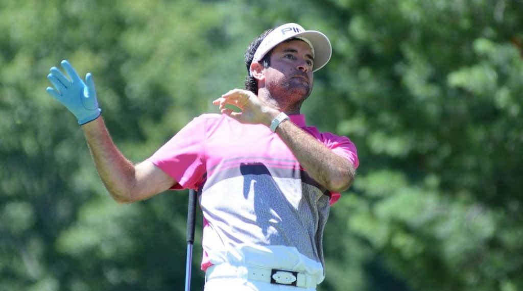 Bubba Watson expressed concer about the new cut rule at the Greenbrier