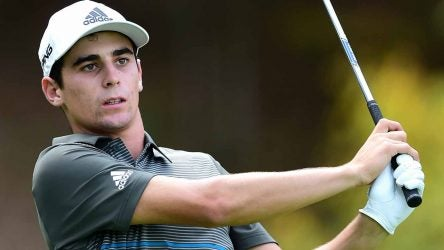 Joaquin Niemann holds the lead heading into the final round at the Greenbrier