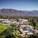 An aerial view of the Ojai Valley Inn & Spa.