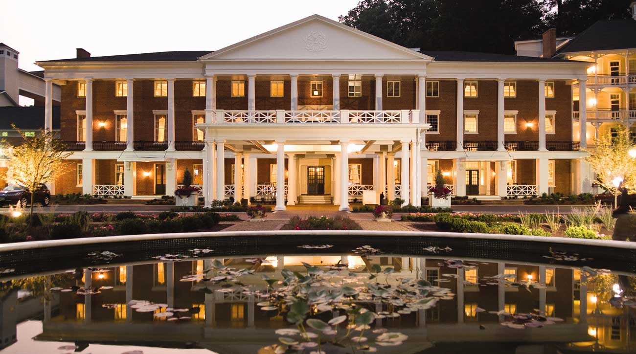 The hotel at Omni Bedford Springs Resort dates back to the 1800s.