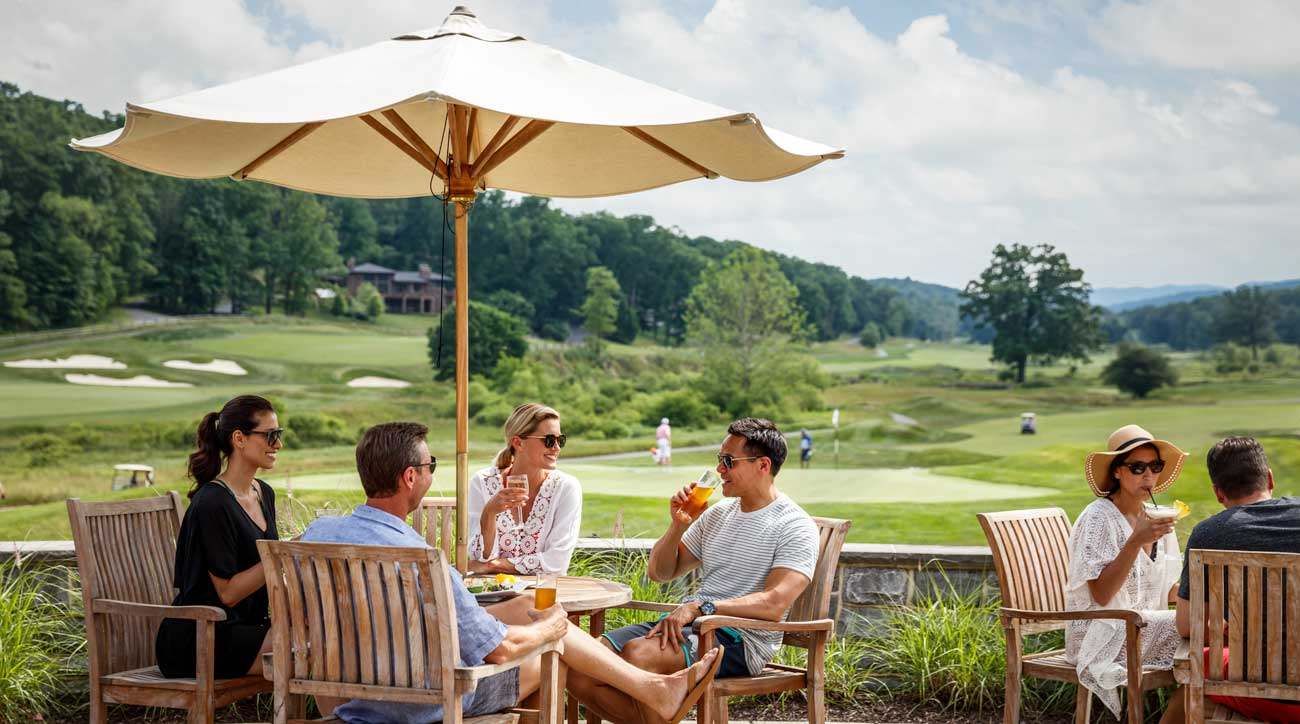 The idyllic setting of Omni Bedford Springs Resort will transport you into the past.