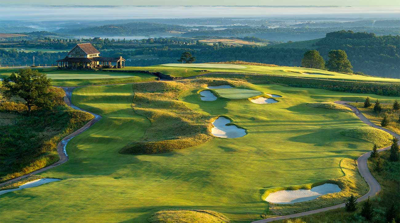 The Ozarks National course at Big Cedar Lodge.
