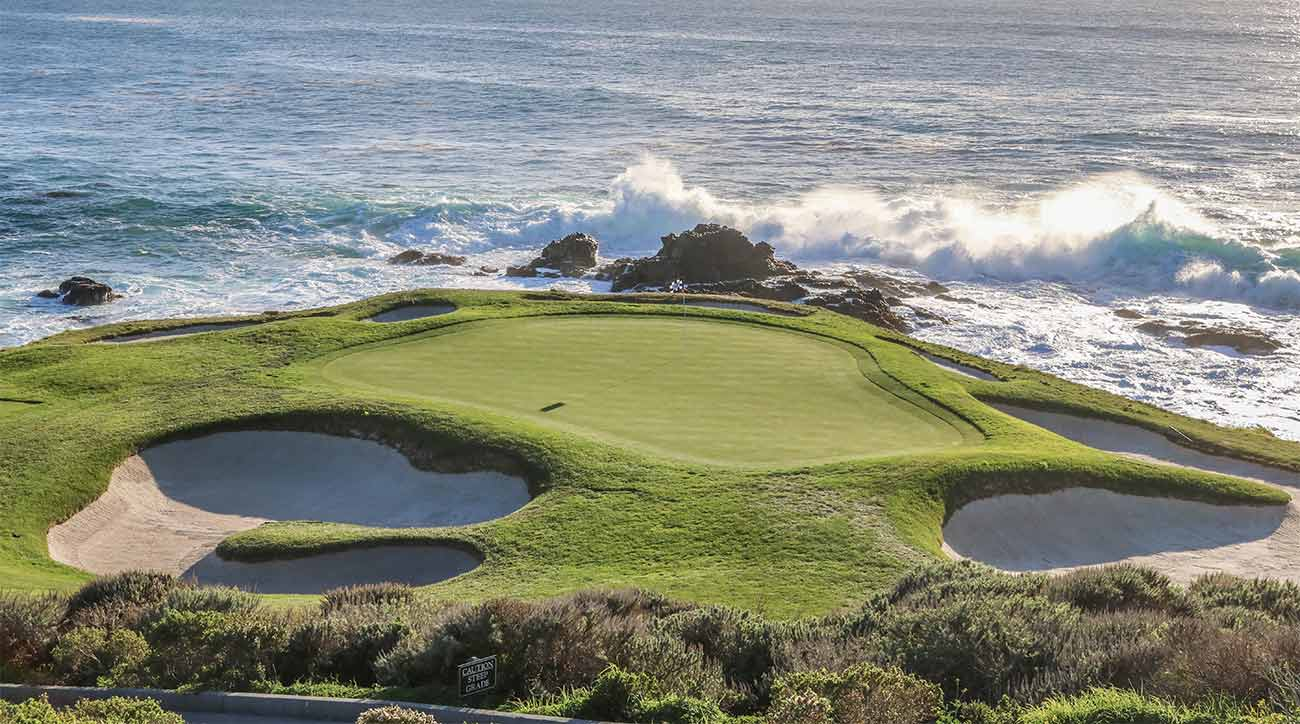The 7th hole at Pebble Beach Golf Links