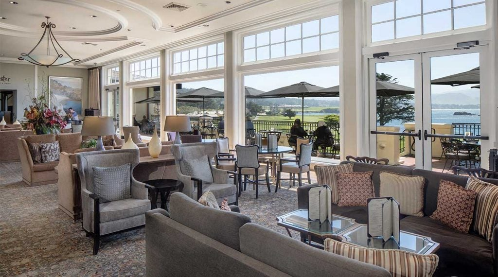 An inside look at The Lodge at Pebble Beach.