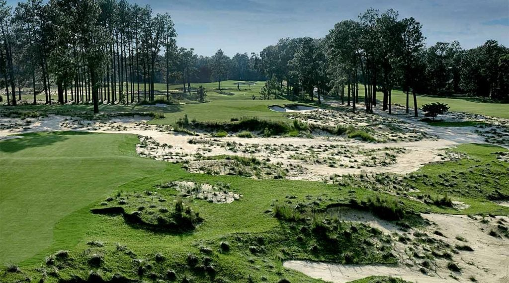 Pinehurst No. 2 is among the resort's favorite (and most famous) courses.