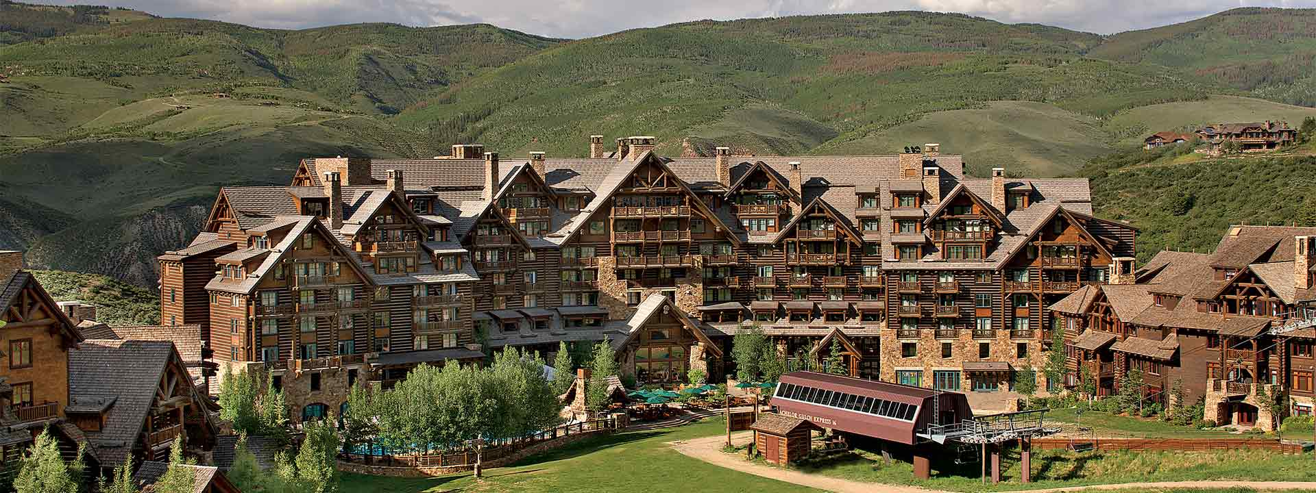 A view of The Ritz-Carlton, Bachelor Gulch.