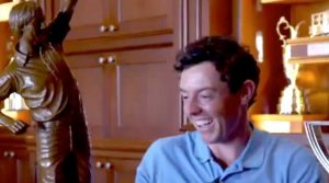 Rory McIlroy couldn't believe it when Jack Nicklaus told him he won PGA Tour Player of the Year.