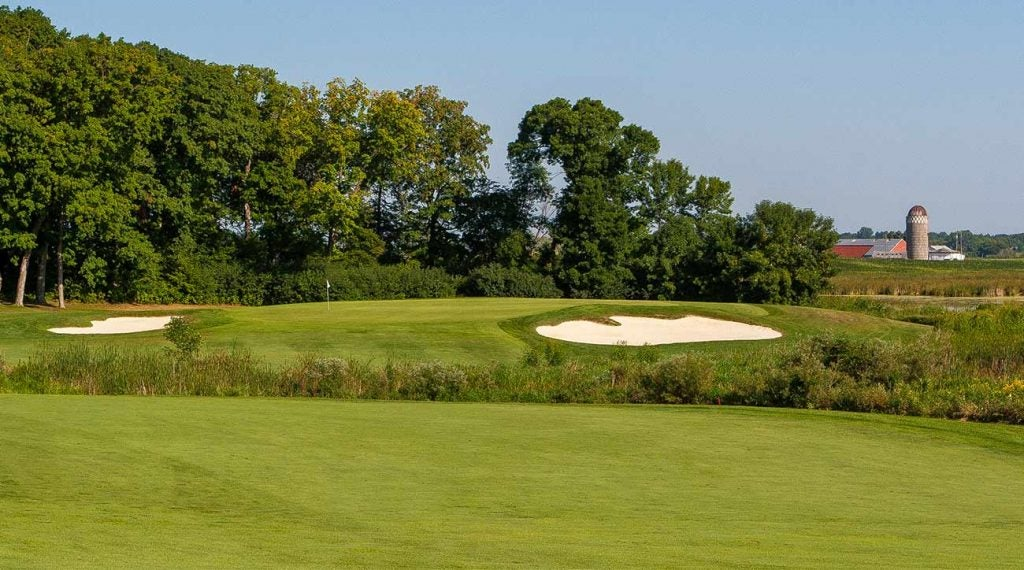 The No. 1 handicap hole at Rush Creek is the par-4 14th.