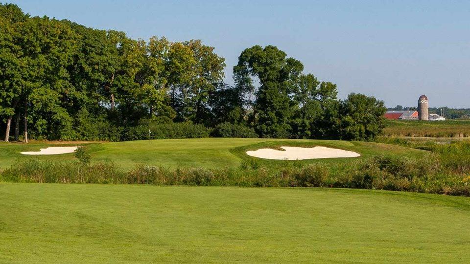The No. 1 handicap hole at Rush Creek is the par-4 14th.
