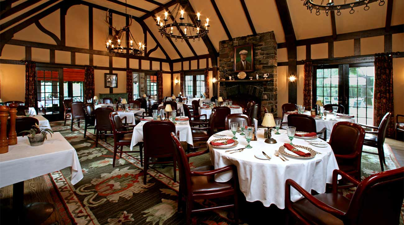 One of the restaurants at The Sagamore Resort.