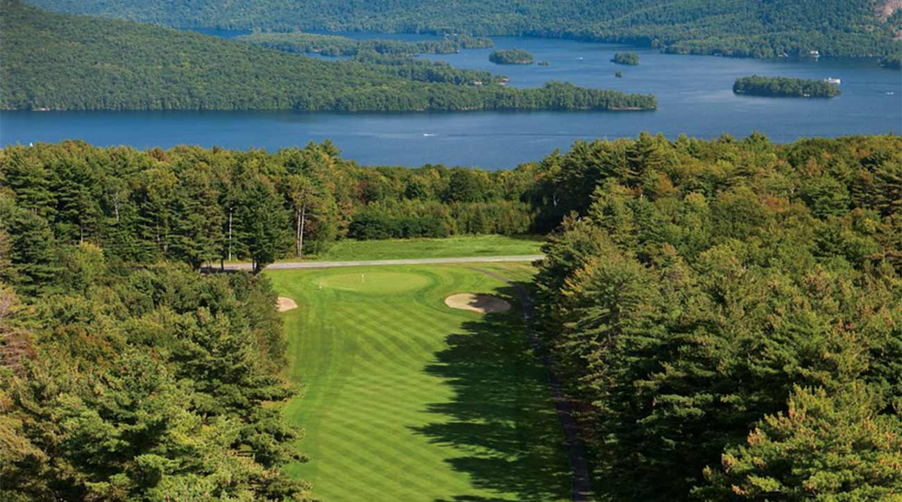 The Donald Ross golf course at The Sagamore Resort.