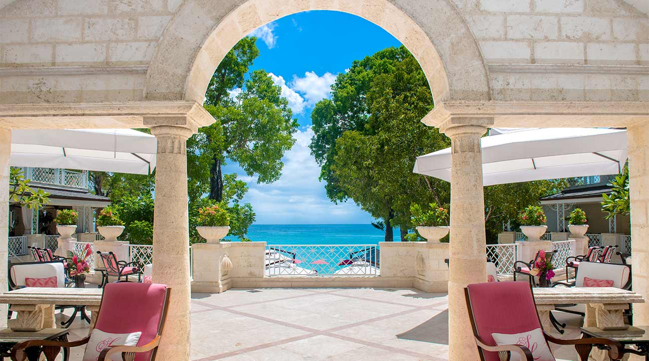 A look at Sandy Lane Resort in Barbados.
