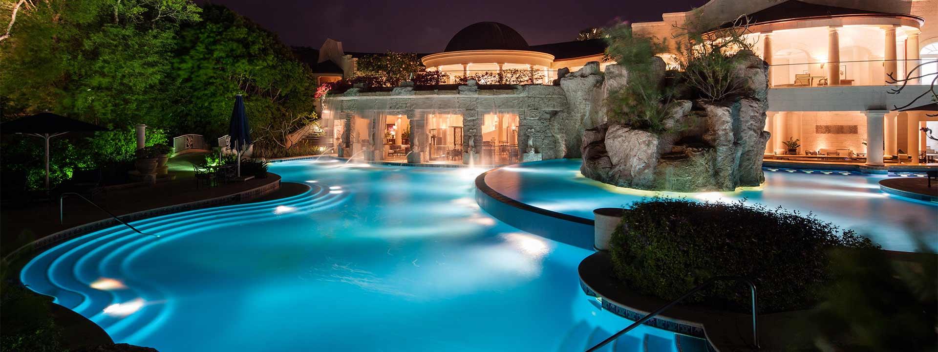 A look at Sandy Lane Resort in Barbados.