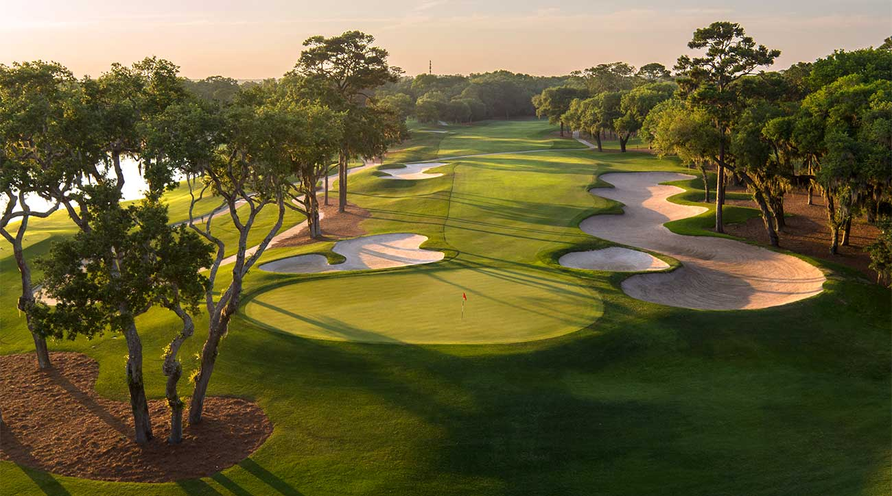 Sea Island has three championship golf courses.