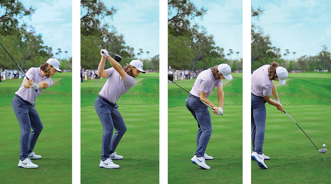 Tommy Fleetwood uses four classic moves to hit it far AND straight