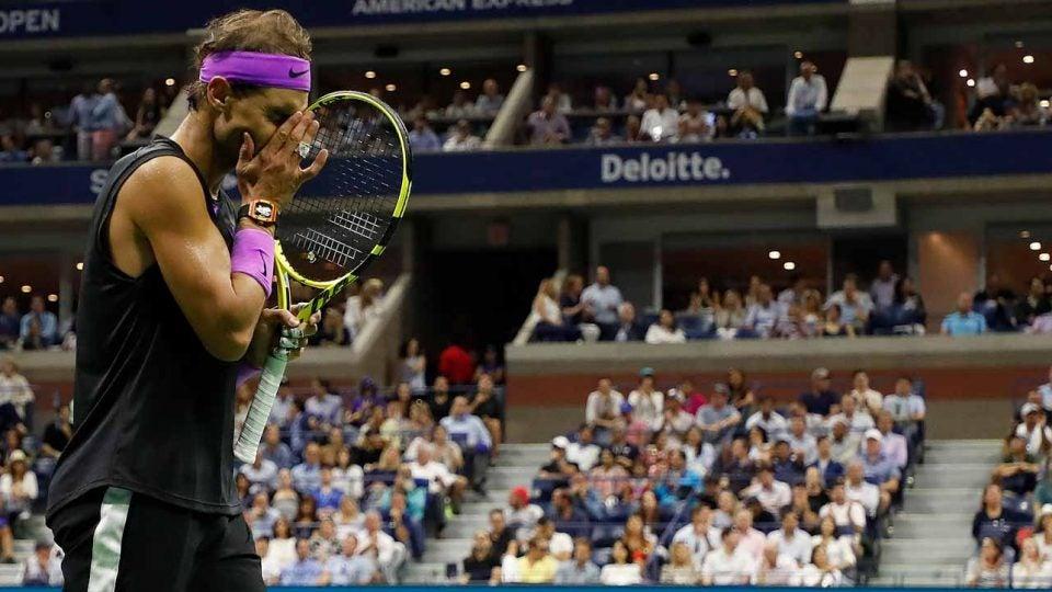 Slow play: Rafael Nadal time violation US Open 2019