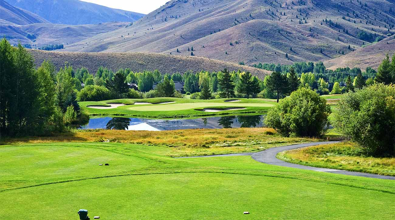 A look at one of the golf courses at Sun Valley Resort.