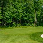 A view of the golf course at Taboo Muskoka Resort & Club.