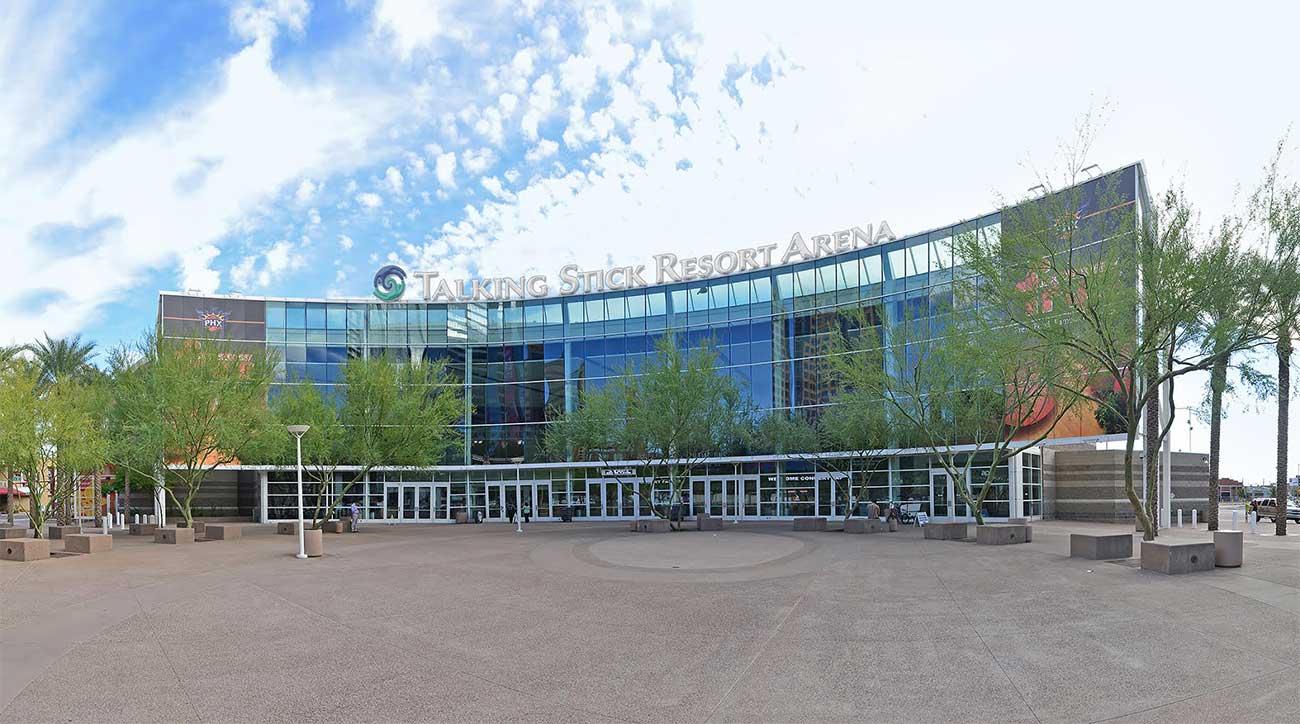The arena at Talking Stick Resort.