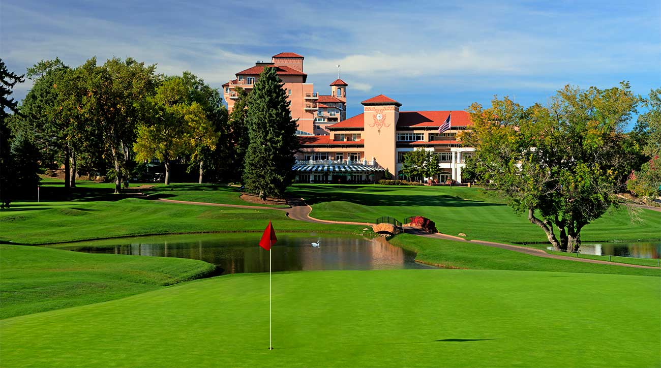 The East Course at The Broadmoor in Colorado.