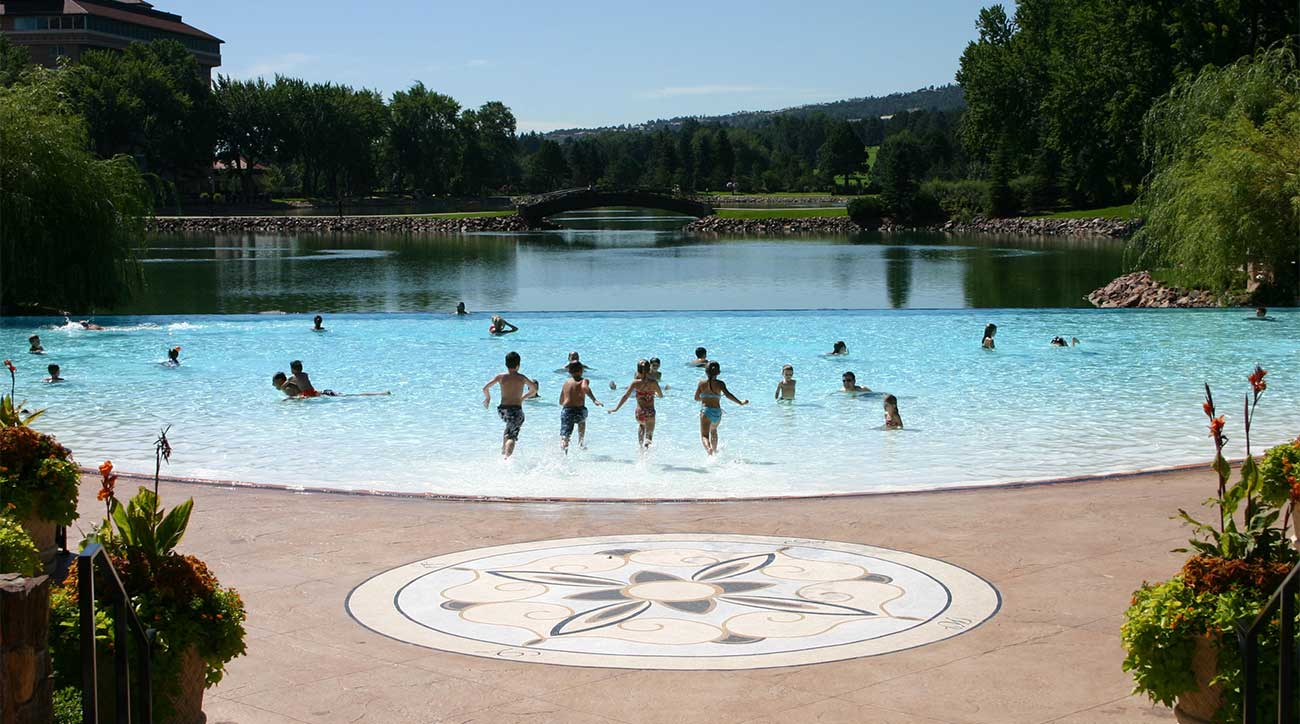 The Broadmoor pool is as good as the rest of the amenities.