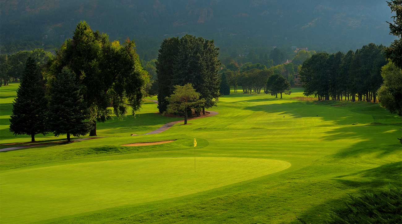 The West Course at The Broadmoor in Colorado.