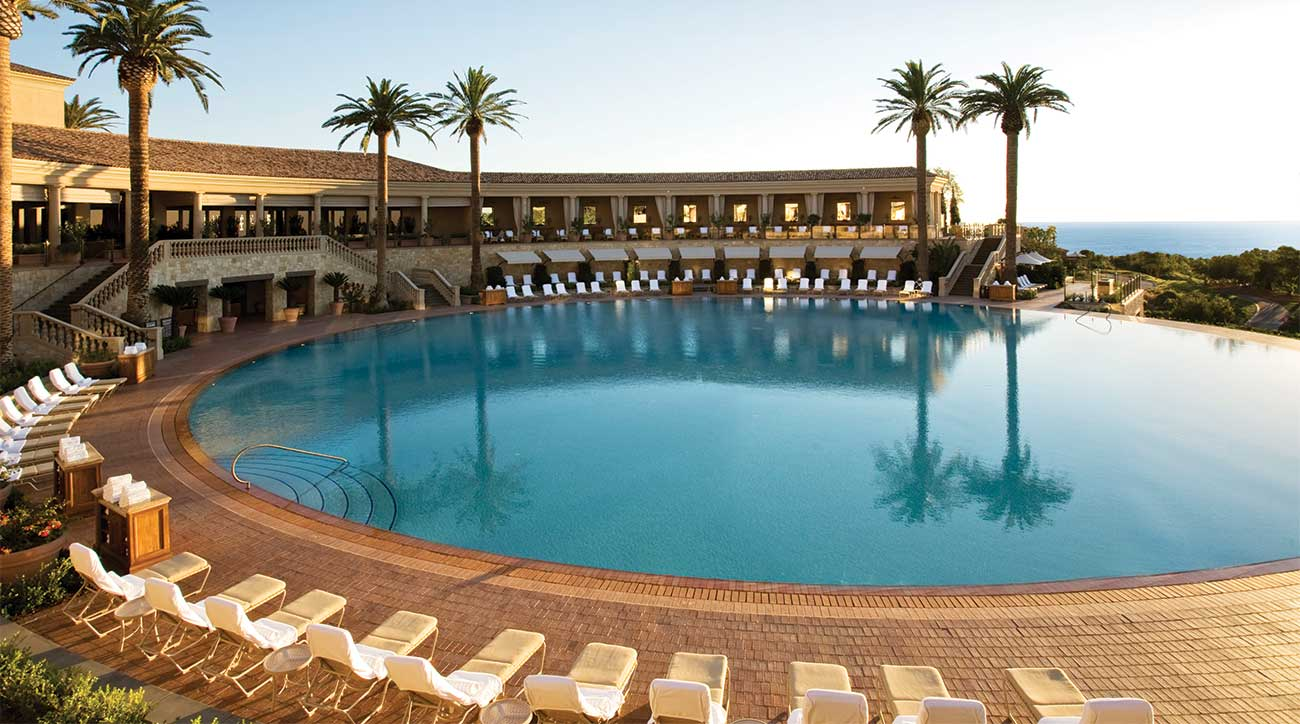 The coliseum pool at The Resort at Pelican Hill.