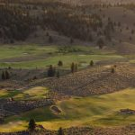 A view of the golf course at The Retreat, Links and Spa at Silvies Valley Ranch.