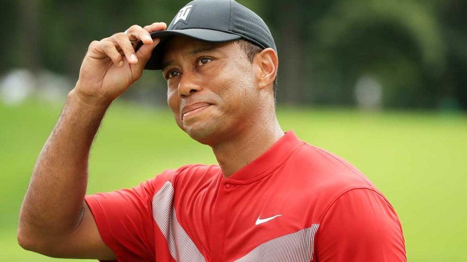 Tiger Woods, role model.