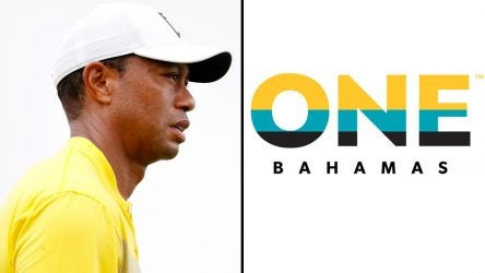 Tiger Woods and ONE Bahamas Fund