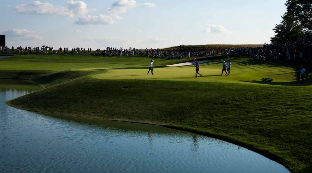 Man charged with doing donuts on greens at Trump ...