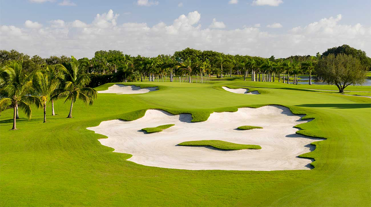 The Blue Monster course at Trump Doral.