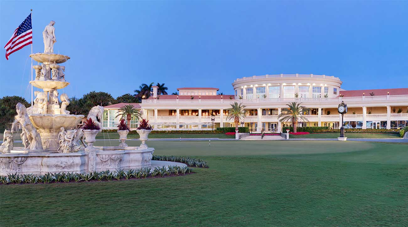 A view of Trump National Doral Miami.