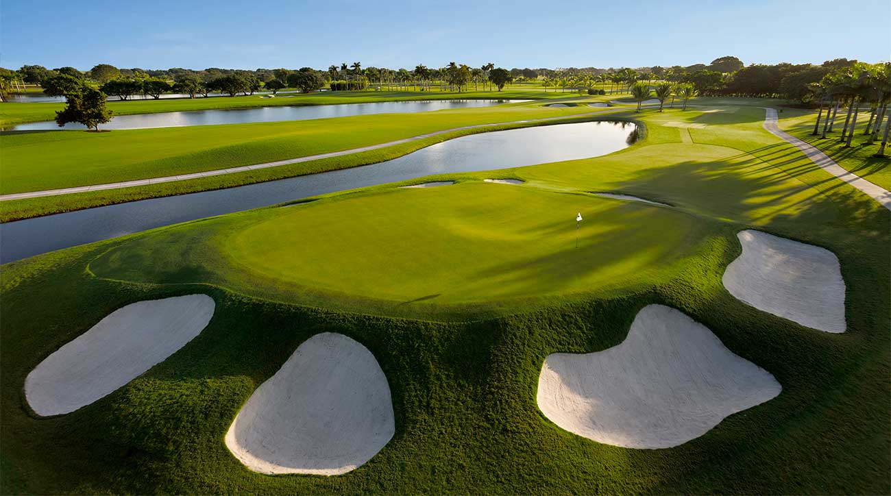 The Red course at Trump Doral.