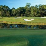 A view of one of the golf courses at Walt Disney World Resort in Orlando, Fla.