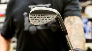 Callaway Wedge Artist Anthony Taranto shares his secrets to club customization.