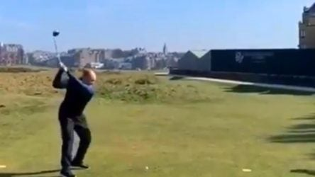 Worst shot in Old Course history?