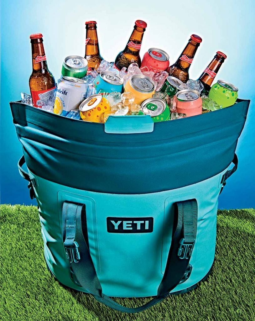 The Yeti Hopper M30 cooler is perfect for the golf course.